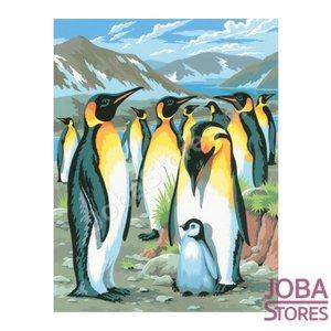 """Schilderen op nummer """"Sequin Art"""" Junior Pinguins"""
