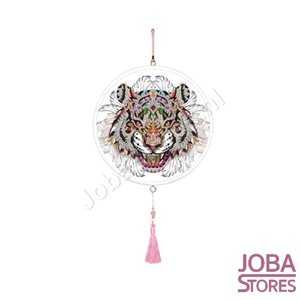 Diamond Painting Wandornament Tijger