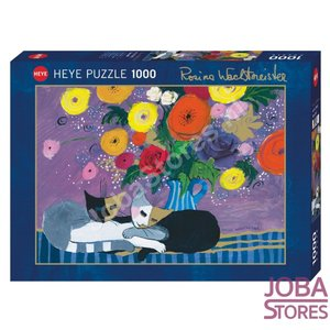 Rosina Wachtmeister Puzzel Sleep Well met goudfolie (1000 stukjes, 50x70cm)