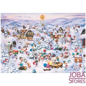 Puzzel Kerstkoor (1000 stukjes, 50x70cm)