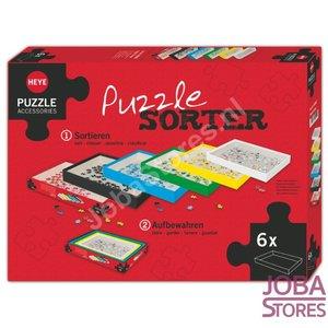 Puzzel Sorteerder (set van 6 boxen)