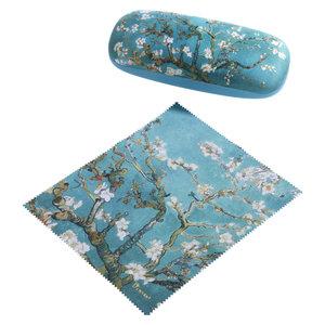 Vincent van Gogh - Brillenkoker - Amandelboom blauw