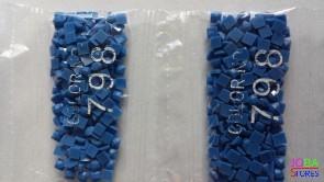 Nummer 798 vierkante steentjes (klein)