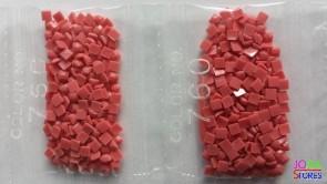 Nummer 760 vierkante steentjes (klein)