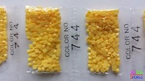 Nummer 744 vierkante steentjes (klein)