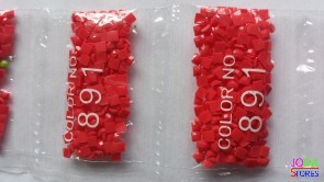 Nummer 891 vierkante steentjes (klein)