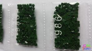 Nummer 986 vierkante steentjes (klein)