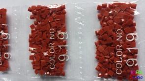 Nummer 919 vierkante steentjes (klein)