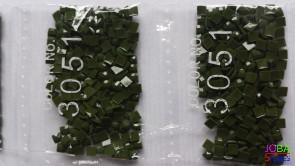 Nummer 3051 vierkante steentjes (klein)