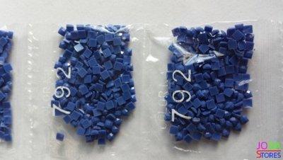 Nummer 792 vierkante steentjes (klein)