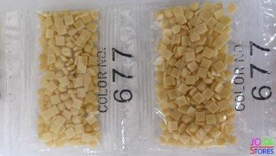 Nummer 677 vierkante steentjes (klein)