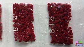 Nummer 814 vierkante steentjes (klein)