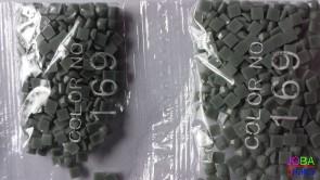 Nummer 169 vierkante steentjes (klein)