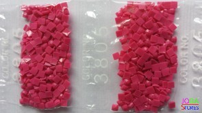 Nummer 3805 vierkante steentjes (klein)