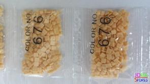 Nummer 676 vierkante steentjes (klein)