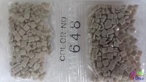 Nummer 648 vierkante steentjes (klein)