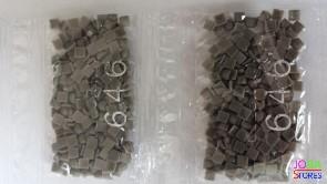 Nummer 646 vierkante steentjes (klein)