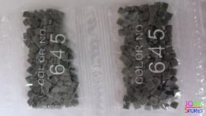 Nummer 645 vierkante steentjes (klein)