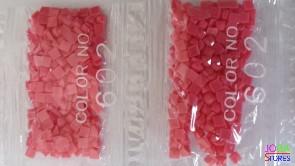 Nummer 602 vierkante steentjes (klein)