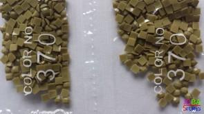 Nummer 370 vierkante steentjes (klein)