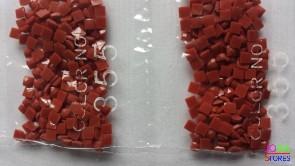 Nummer 355 vierkante steentjes (klein)