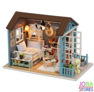 """Miniatuur zelfbouw huisje """"Forest Times"""""""