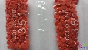 Nummer 351 vierkante steentjes (klein)