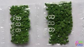 Nummer 988 vierkante steentjes (klein)