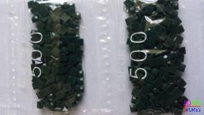 Nummer 500 vierkante steentjes (klein)