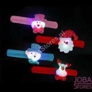 OP=OP Klap Armband Kerst 02 met verlichting (set van 4 stuks)