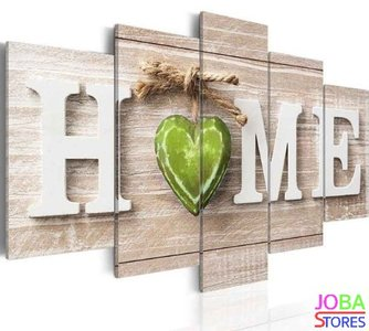 "Diamond Painting ""JobaStores®"" Home Groen 100x50 (FULL)"