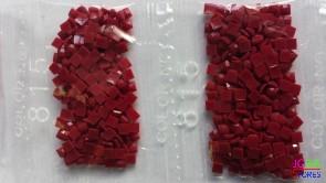 Nummer 815 vierkante steentjes (klein)