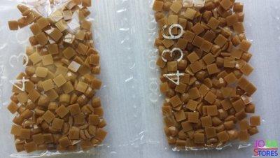 Nummer 436 vierkante steentjes (klein)
