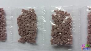 Nummer 3861 vierkante steentjes (klein)