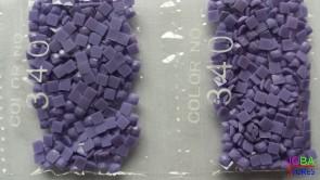 Nummer 340 vierkante steentjes (klein)