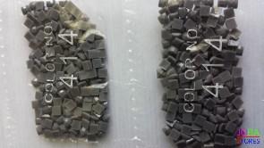 Nummer 414 vierkante steentjes (klein)