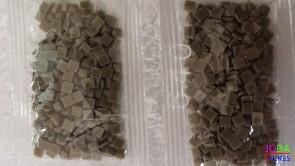 Nummer 640 vierkante steentjes (klein)