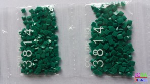 Nummer 3814 vierkante steentjes (klein)