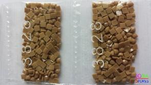 Nummer 3828 vierkante steentjes (klein)