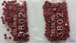 Nummer 3802 vierkante steentjes (klein)