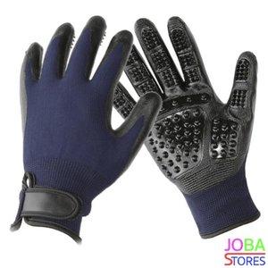 OP=OP Katten/Honden Grooming Handschoen Blauw (Rechtshandig)