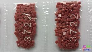 Nummer 3722 vierkante steentjes (klein)