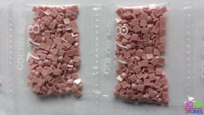 Nummer 778 vierkante steentjes (klein)