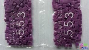 Nummer 553 vierkante steentjes (klein)
