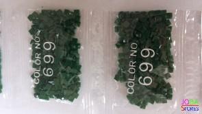 Nummer 699 vierkante steentjes (klein)