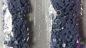 Nummer 156 vierkante steentjes (klein)