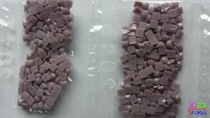 Nummer 3042 vierkante steentjes (klein)