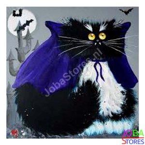 OP=OP Diamond Painting Crazy Cats 09 30x30cm
