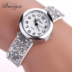 OP=OP Horloge Duoya Wit in geschenkdoosje