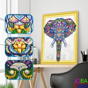 OP=OP Diamond Painting *Special* Olifant 015 40x50cm - incl. frame